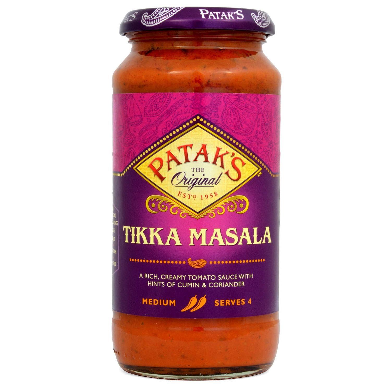 Pataks Tikka Masala Kochsoße 450g
