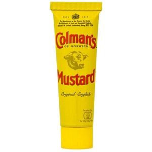 Colmans English Mustard 50 g Tube - Englischer Senf, scharf