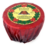 Thursday Cottage Christmas Pudding Cellophanverpackung Weihnachtspudding 454g