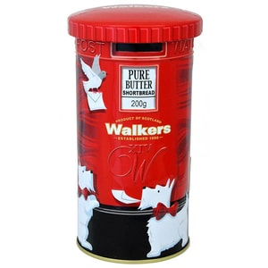 Walkers Shortbread Postbox 200g - Buttergebäck