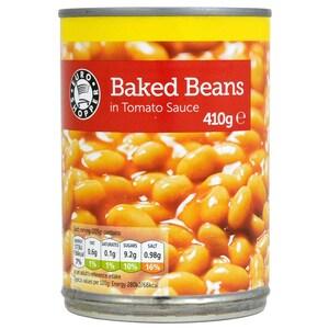 Euro Shopper Baked Beans 410g - Weiße Bohnen in Tomatensoße
