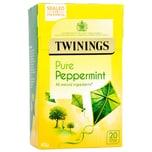 Twinings Pfefferminztee 20 Teebeutel aromatisierter Früchtetee