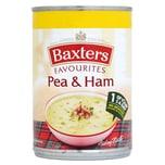 Baxters Favourites Pea & Ham Soup Erbsensuppe mit geräuchertem Schinken 400g