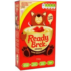 Weetabix Ready Brek Original 250g - Hafer-Frühstücksflocken