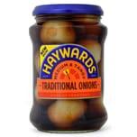 Haywards Traditional Pickled Onions 400g - Eingelegte Zwiebeln, Abtropfgewicht 215g