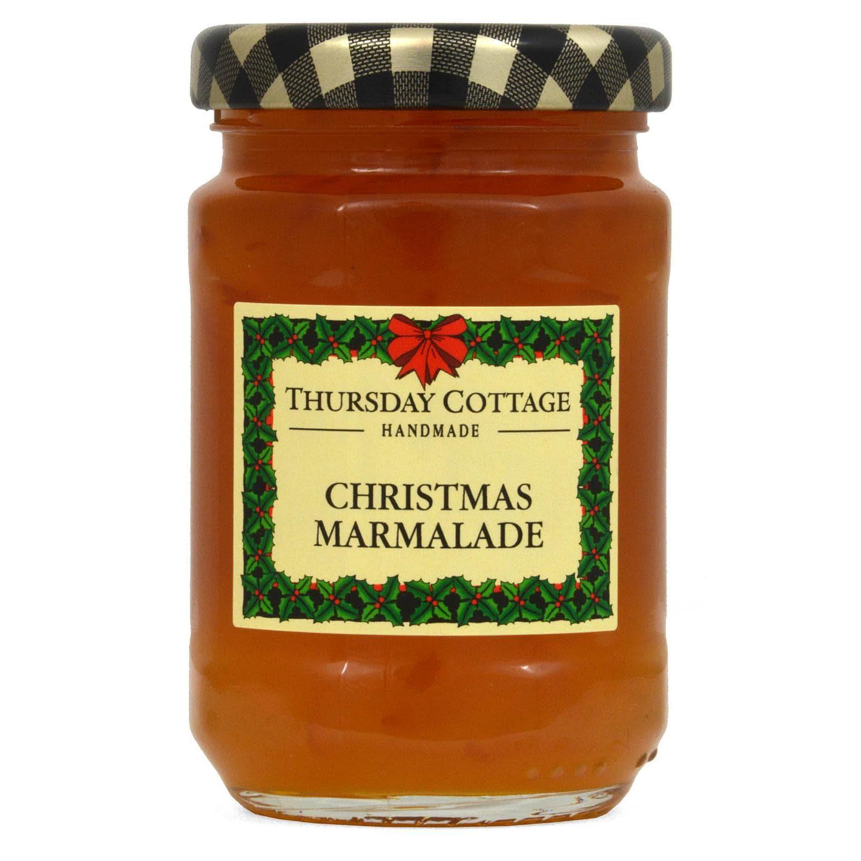 Thursday Cottage Weihnachts-Marmalade 112g - Orangenmarmelade mit Whisky