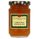 Thursday Cottage Weihnachts-Marmalade 112g - Orangenmarmelade mit Whisky