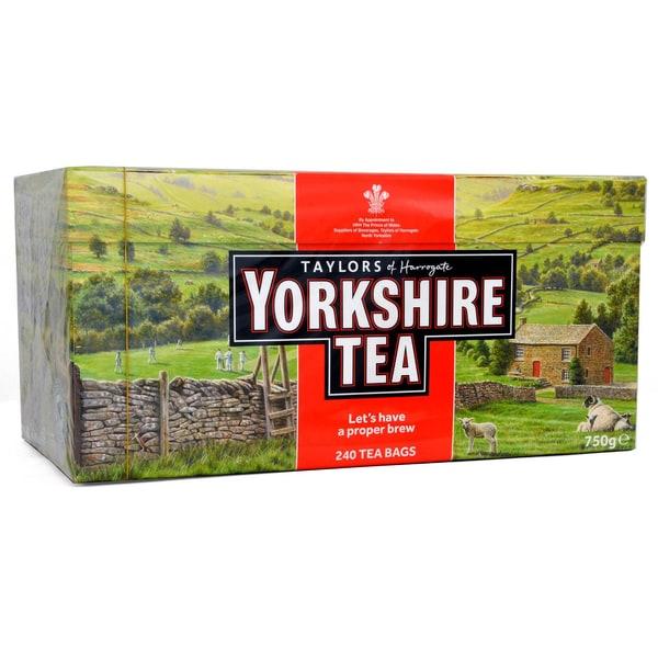 Yorkshire Tea 240 Teebeutel - 750g - Schwarztee in Teebeuteln