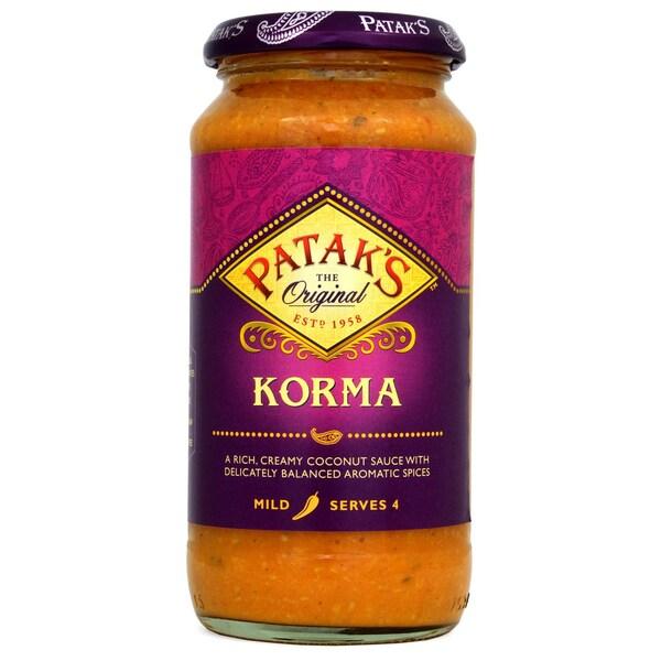 Pataks Korma Kochsoße Glas 450g
