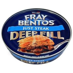 Fray Bentos Pie Just Steak 475g - Blätterteigpastete mit Rindfleischfüllung