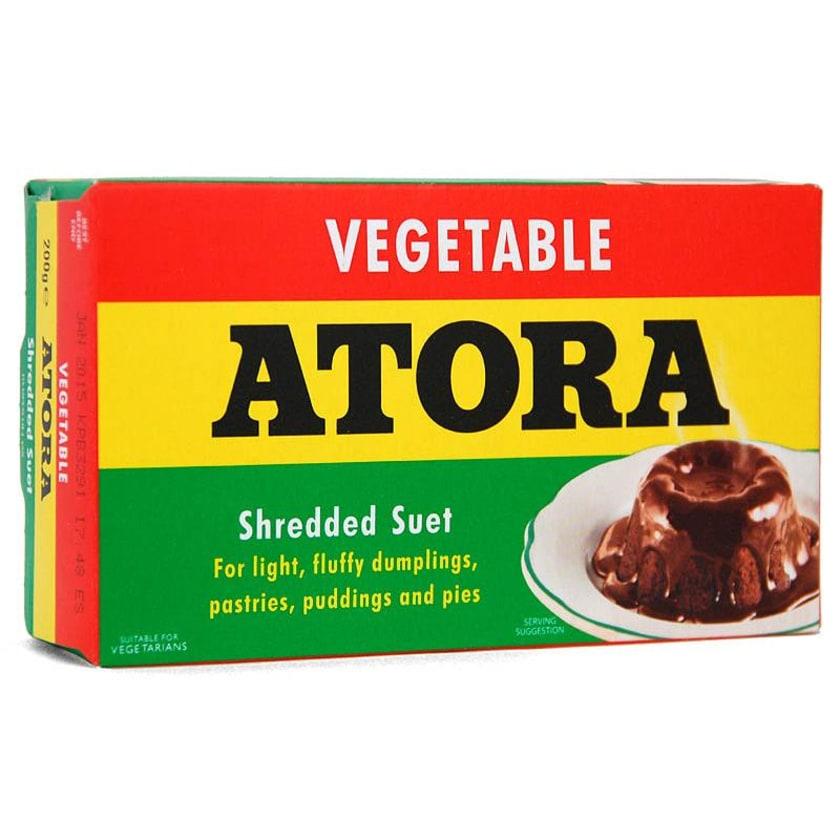 Atora Shredded Vegetable Suet Talgflocken auf Pflanzenbasis 200g