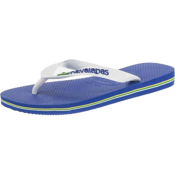 havaianas Brasil Logo offene Schuhe