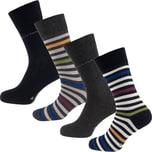 TOM TAILOR 4er Pack Socks Box Stripe Socken