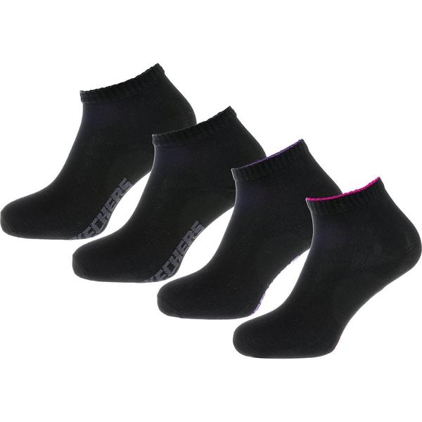 SKECHERS 4 Paar Socken