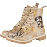 Dogo Shoes Dogo Long Boots - Raccoon Schnürstiefeletten