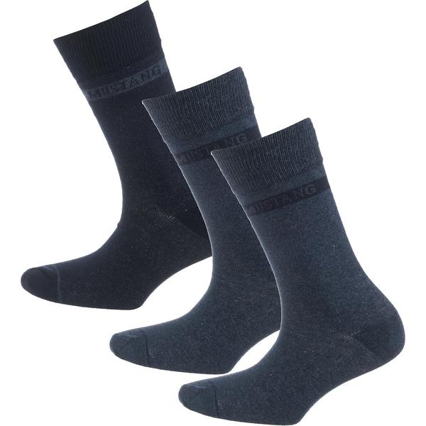 MUSTANG 3 Paar Socken basic