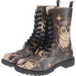 Dogo Shoes Dogo Zipsy - Owls Family Schnürstiefel
