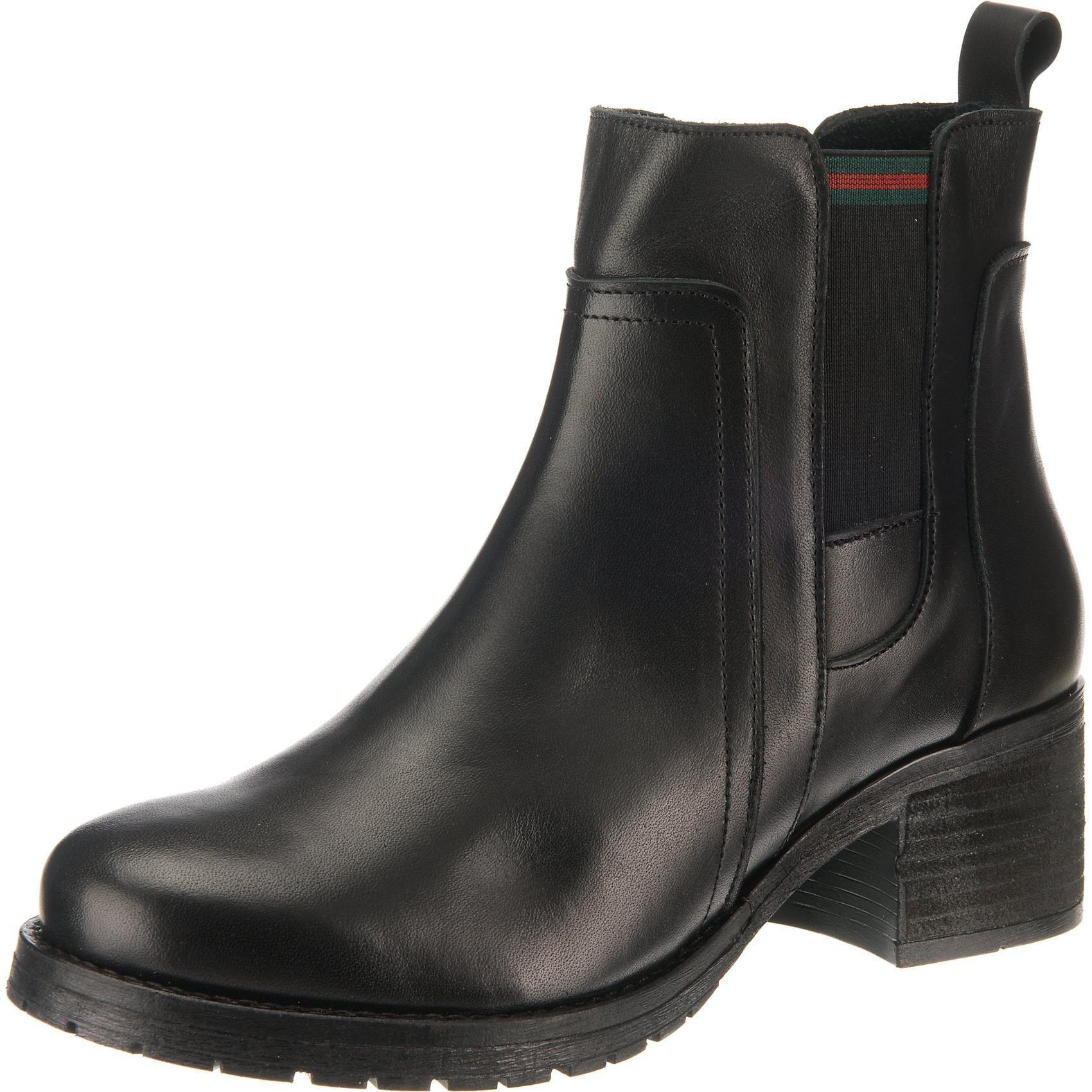 Paul Vesterbro Klassische Leder Sandale in senf Frauen
