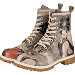 Dogo Shoes Dogo Boots - Go Back To Being Yourself Schnürstiefel