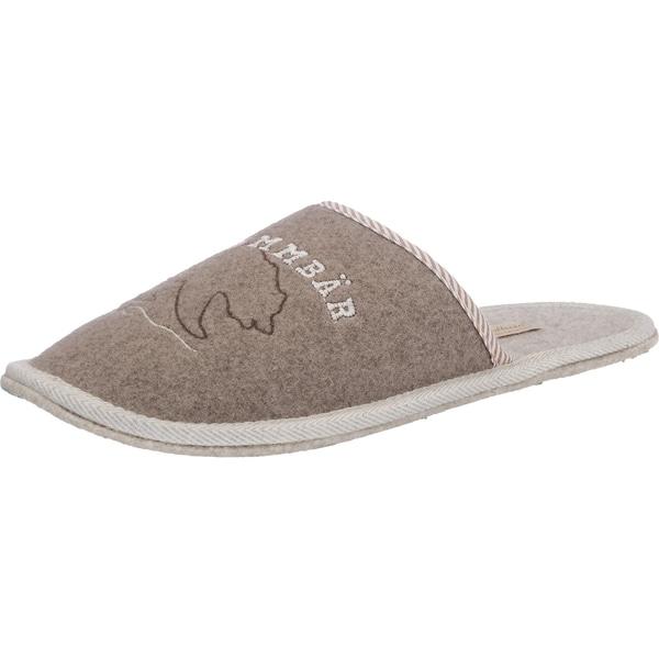 Adelheid Brummbär Pantoffeln