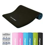 MSports Gymnastikmatte Yoga-Premium - 183 x 61 x 0.8 cm Schwarz
