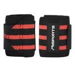 MSports Handgelenkbandage 2er Set verstellbar für Frauen und Männer - Rot