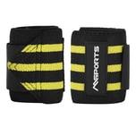 MSports Handgelenkbandage 2er Set verstellbar für Frauen und Männer - Gelb