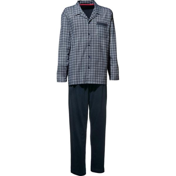 Ceceba Herren-Schlafanzug dunkelblau