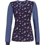 Bloomy Damen-Langarmshirt blau