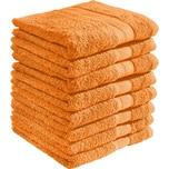 Redbest Duschtuch Chicago orange 8er-Pack