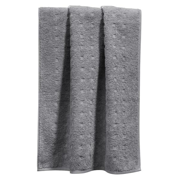 Möve Duschtuch Quadretti grau