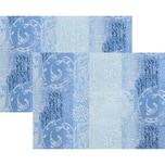 Apelt Tischset 2er-Pack blau