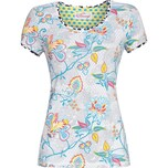 Bloomy Damen-T-Shirt hellgrau