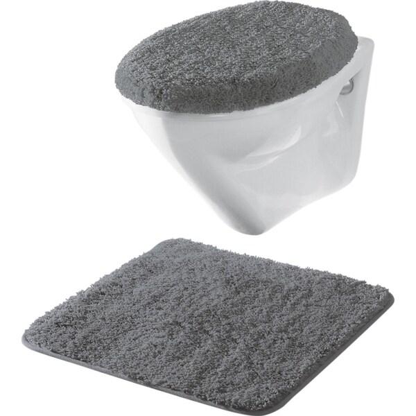 Erwin Müller 2-tlg. Hänge-WC-Set anthrazit