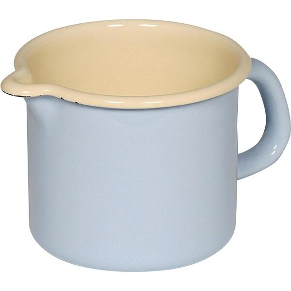 Riess Milchtopf pastellblau