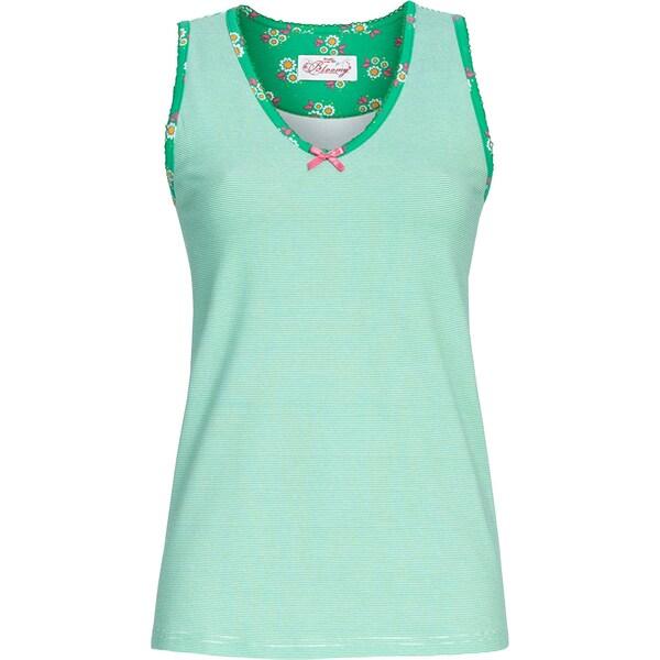 Bloomy Damen-Top grün