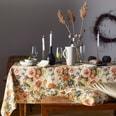 Apelt Tischdecke Herbstzeit Herbstrose