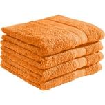 Redbest Duschtuch Chicago 4er-Pack orange