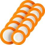 Gepolana Tafelservice 12-tlg. orange