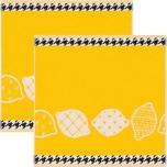 KrachtFrottier Geschirrtuch Zitronen 2er-Pack
