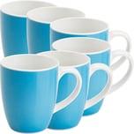 Gepolana Kaffeebecher 6er-Pack blau