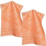 Sander Geschirrtuch Legumes 2er-Pack orange