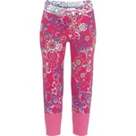 Bloomy Damen-Caprileggings pink