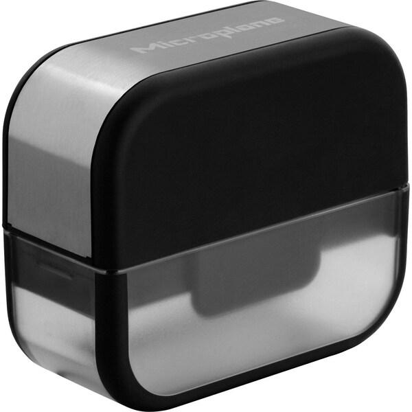 Microplane Knoblauchschneider schwarz