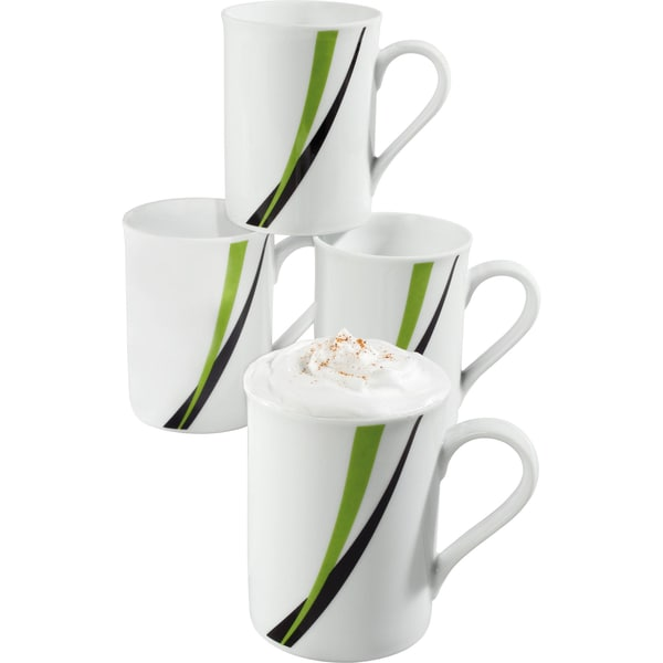 Gepolana Kaffeebecher Limone 4er-Pack seefarn