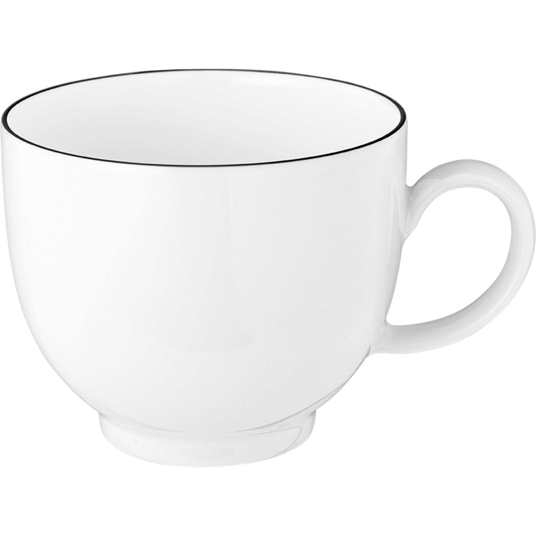 Seltmann Kaffeetasse Lido Black Line