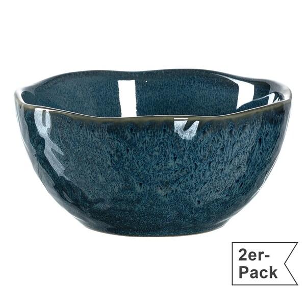 Leonardo Schale klein Matera 2er-Pack blau