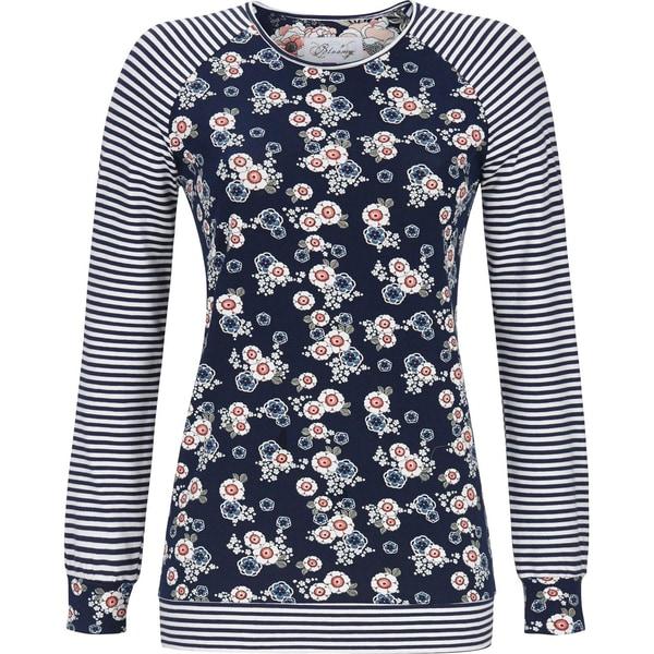 Bloomy Damen-Langarmshirt marine