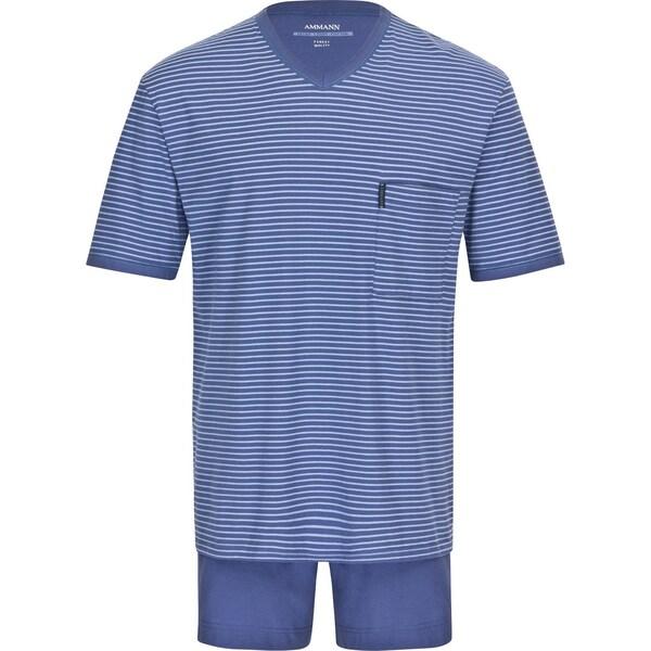 Ammann Herren-Shorty blau