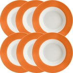 Gepolana Suppenteller 6er-Pack orange